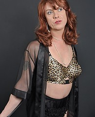 It didn't take long for this sexy crossdresser virgin to fall in love with the camera, and the camera to fall in love with her! She has some gorg