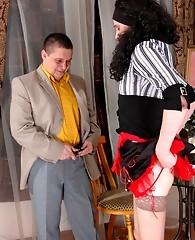 Philip&Dan nasty crossdresser gay sex