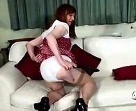 Lucimay loves you to see her spanking her own ass